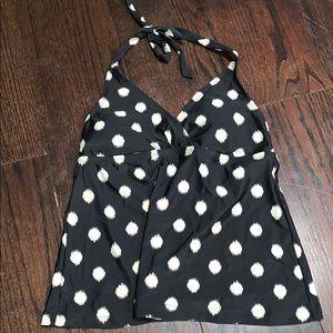 NWT Polka dot bathing suit top